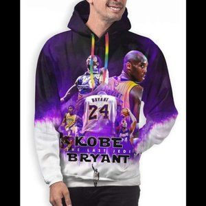 New Kobe Bryant Over the Years Sweater NWT